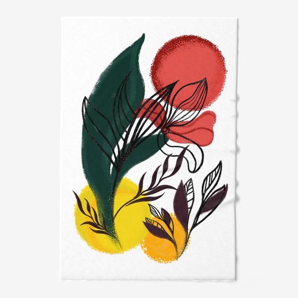 Полотенце «Абстракция. Линии и цвет.»