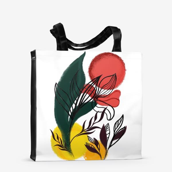 Сумка-шоппер «Абстракция. Линии и цвет.»