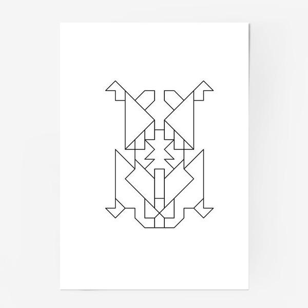 Постер «Жук-Скарабей»