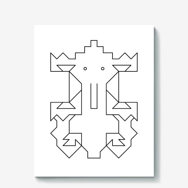 Холст «Слоненок Кусь»