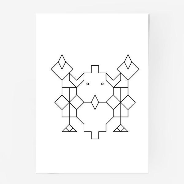 Постер «Сова»