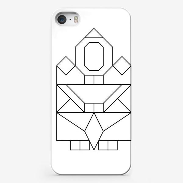 Чехол iPhone «Якутяночка»