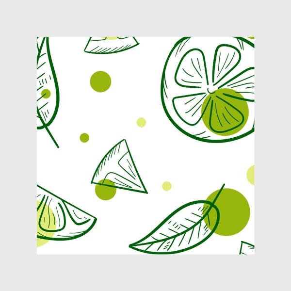Шторы «Зеленый чай с бергамотом»