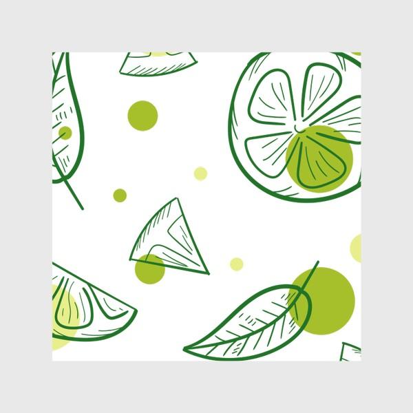 Скатерть «Зеленый чай с бергамотом»