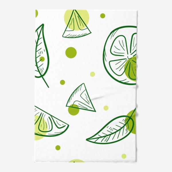 Полотенце «Зеленый чай с бергамотом»