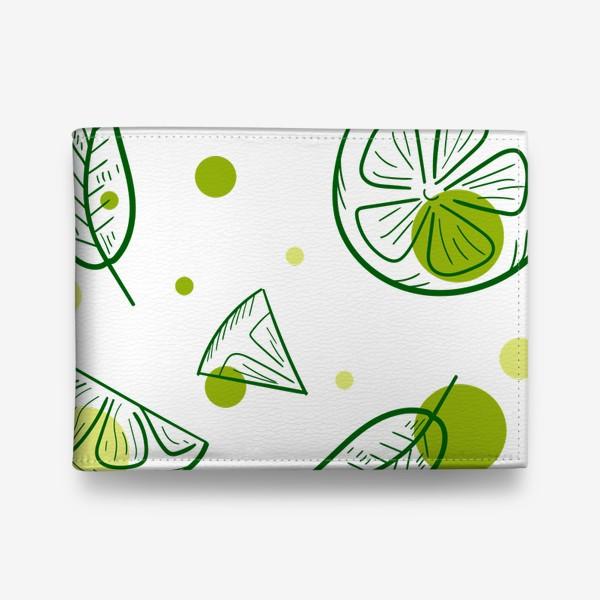 Кошелек «Зеленый чай с бергамотом»