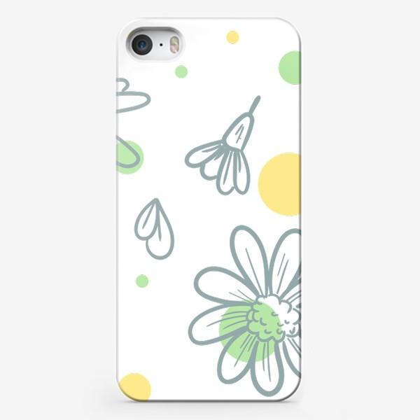 Чехол iPhone «Чай с ромашкой»