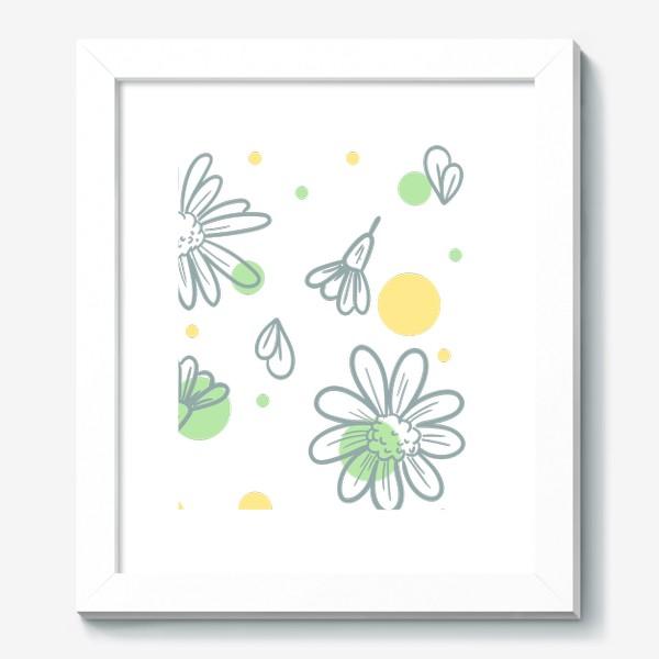 Картина «Чай с ромашкой»