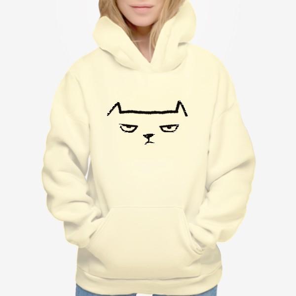 Худи «Кот недовольный»