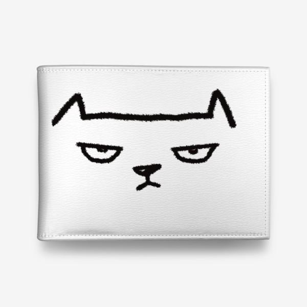 Кошелек «Кот недовольный»