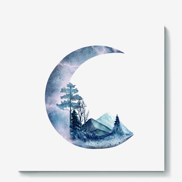 Холст «Луна»
