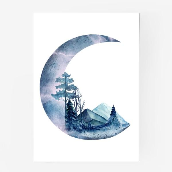Постер «Луна»