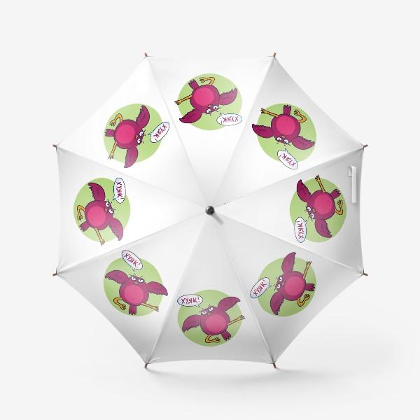 Зонт «Дерзкая птичка»
