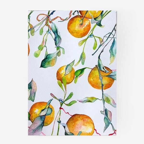 Постер «Мандарины и омела»