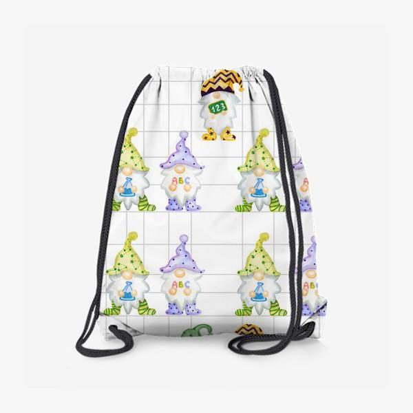 Рюкзак «Тетрадка Гномы в школе»