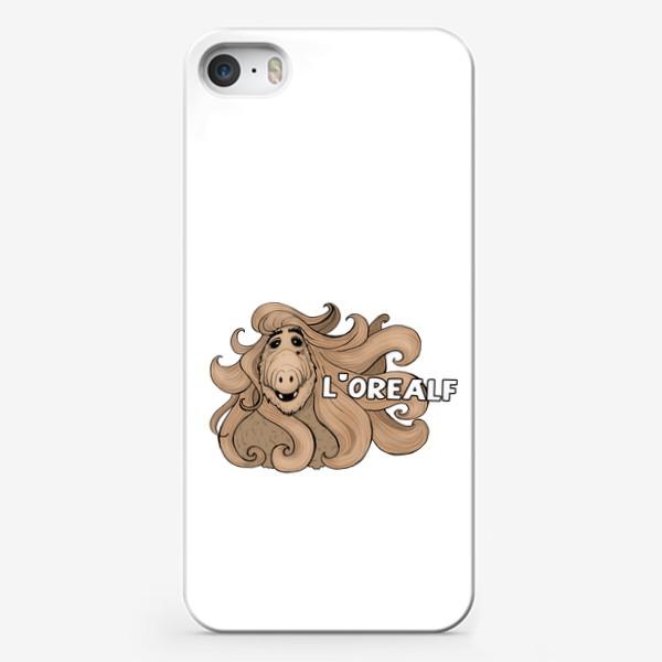 Чехол iPhone «L'OrealF. Альф сериал. Подарок стилисту»