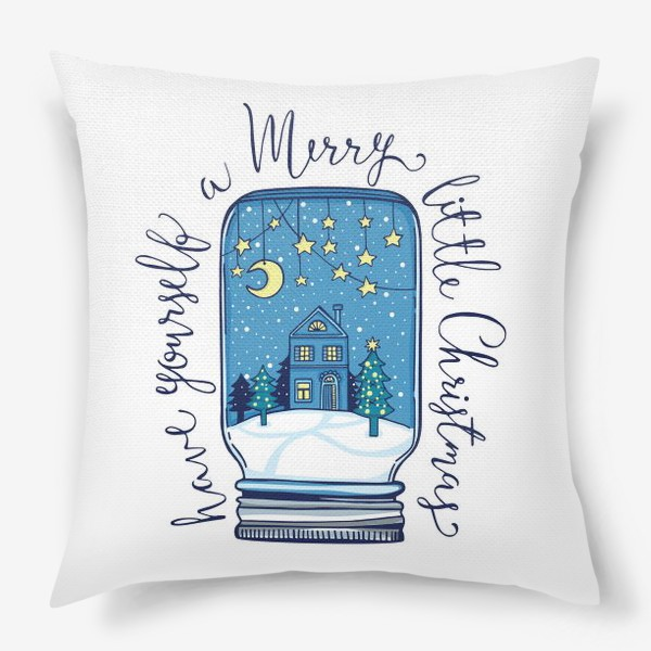 Подушка «Зимние сказки»