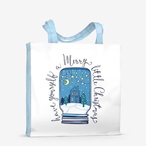 Сумка-шоппер «Зимние сказки»
