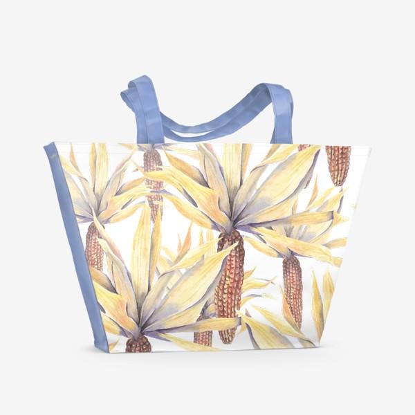 Пляжная сумка «Кукуруза»