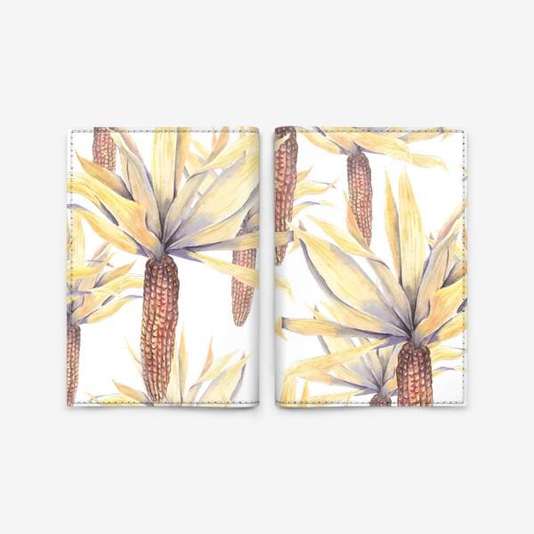 Обложка для паспорта «Кукуруза»