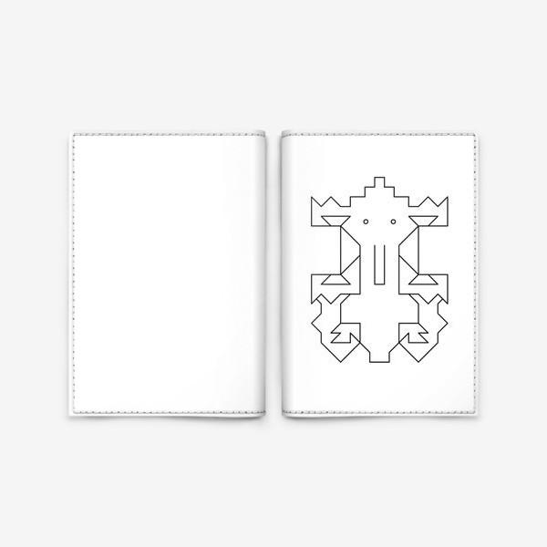 Обложка для паспорта «Слоненок Кусь»