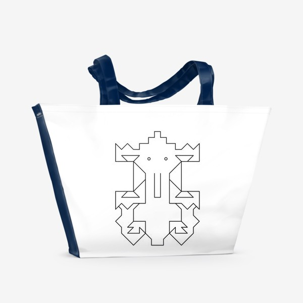 Пляжная сумка «Слоненок Кусь»