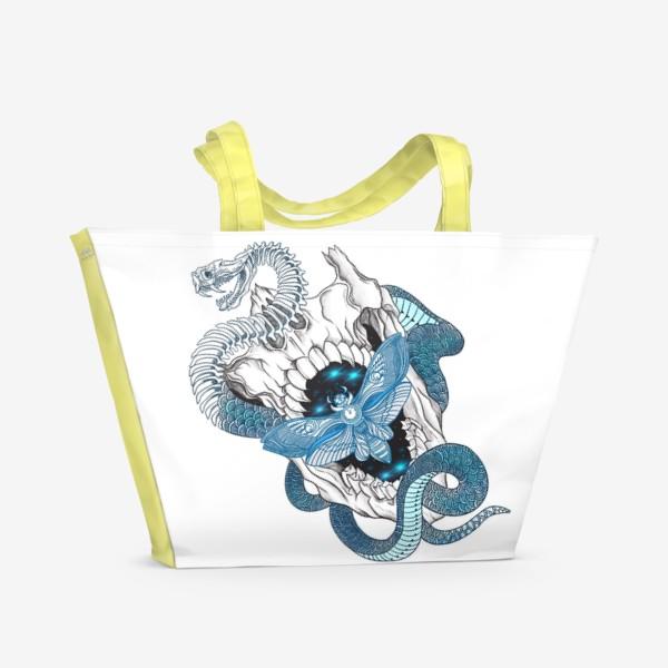 Пляжная сумка «Время»