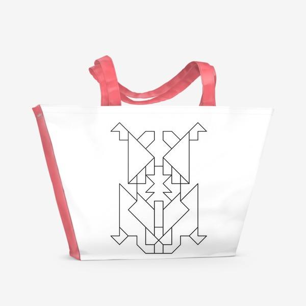 Пляжная сумка «Жук-Скарабей»