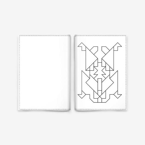 Обложка для паспорта «Жук-Скарабей»