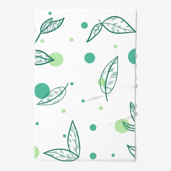 Полотенце «Зеленый чай»