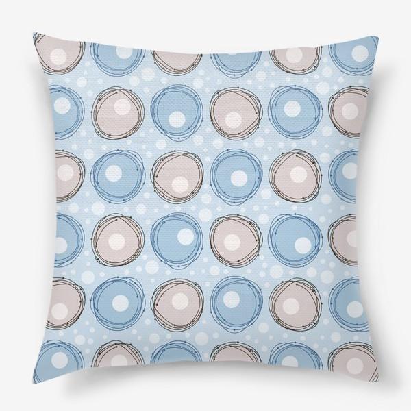 Подушка «круги»