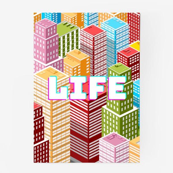 Постер «LIFE/ЖИЗНЬ»