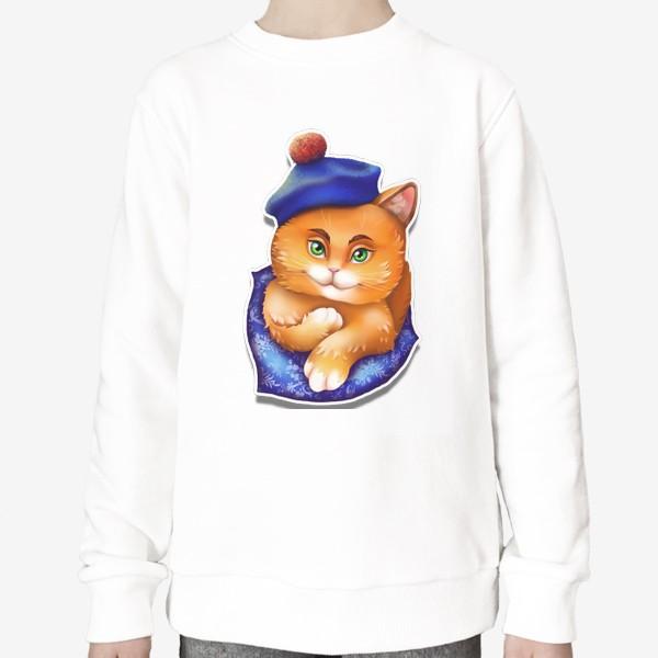 Свитшот «кот»
