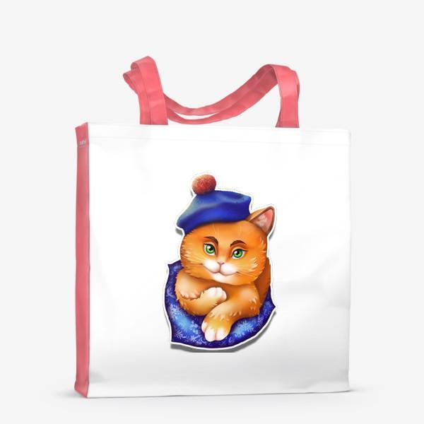 Сумка-шоппер «кот»