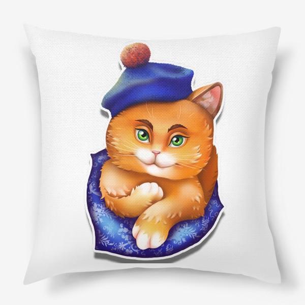 Подушка «кот»