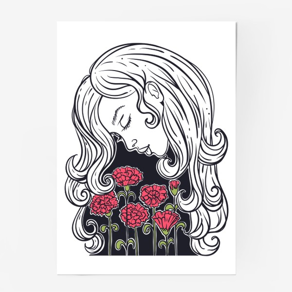 Постер «Гвоздики»