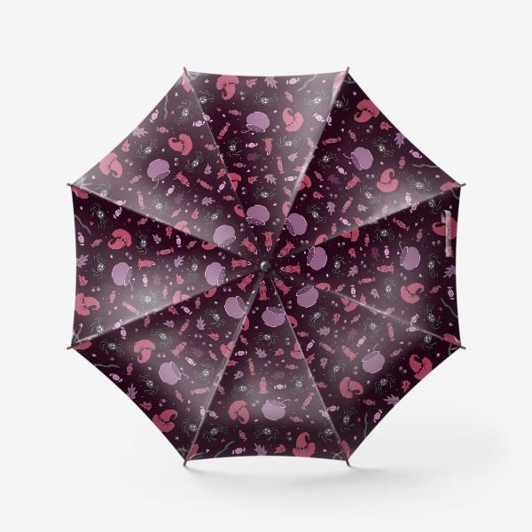 Зонт «Магический фон для хэллоуина»