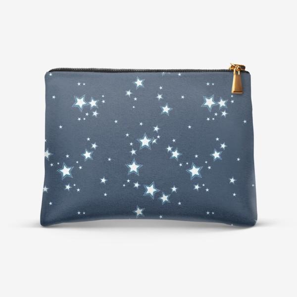 Косметичка «Ночь и звезды. Звездное небо»