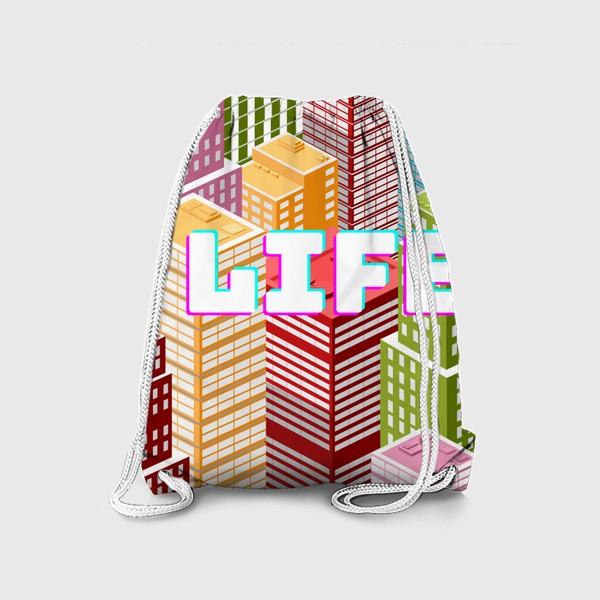 Рюкзак «LIFE/ЖИЗНЬ»