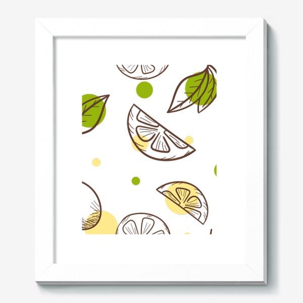 Картина «Чай с лимоном»