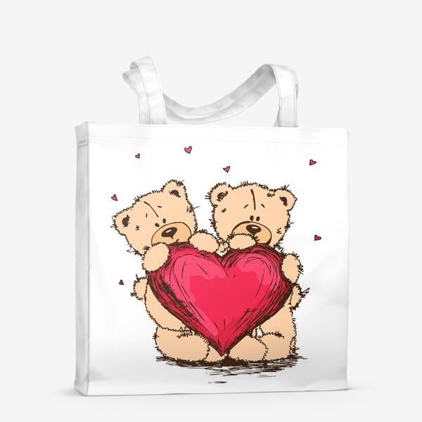Сумка-шоппер «Мишкина Любовь»