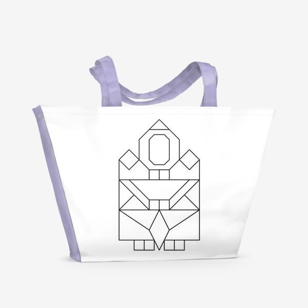 Пляжная сумка «Якутяночка»