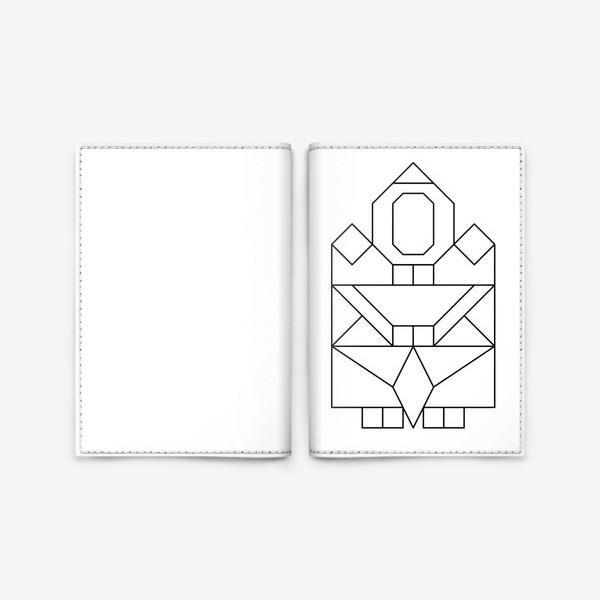 Обложка для паспорта «Якутяночка»
