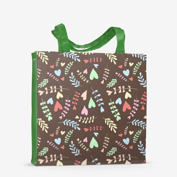 Сумка-шоппер «Разноцветные сердца»