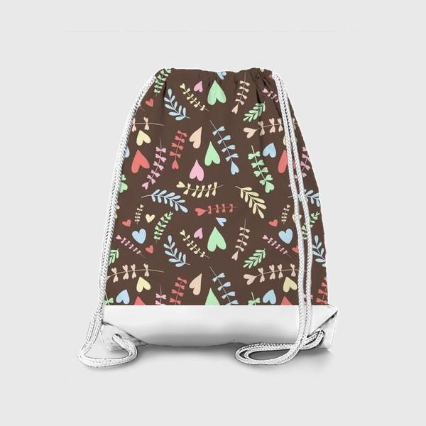 Рюкзак «Разноцветные сердца»