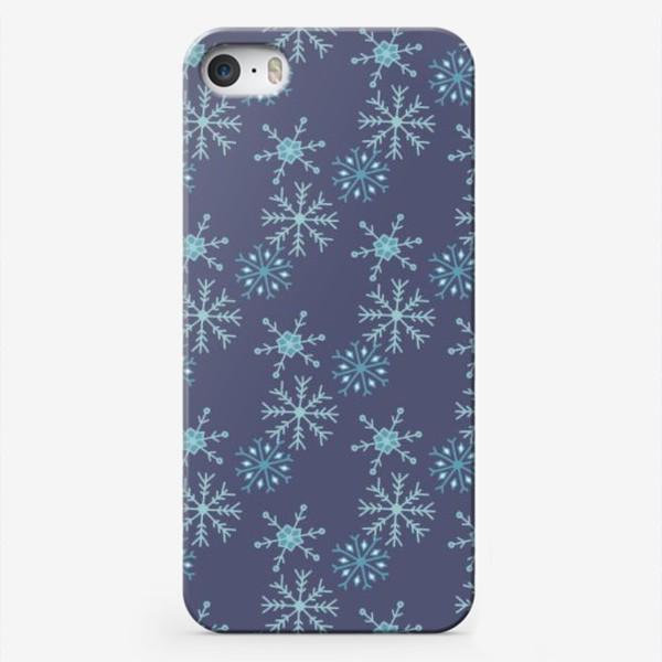 Чехол iPhone «Снежный»