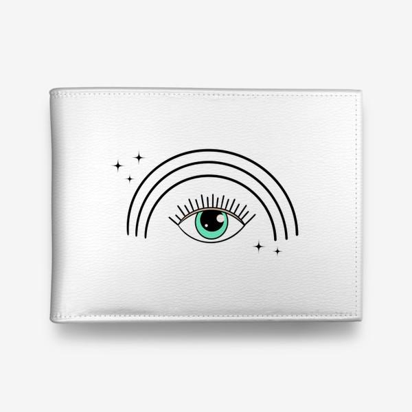 Кошелек «Глаз с радугой»