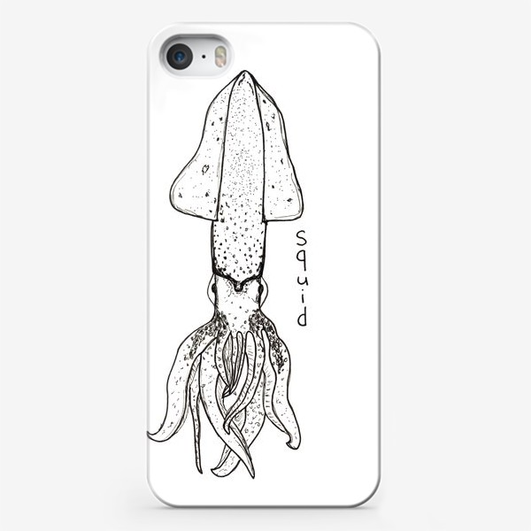 Чехол iPhone «Squid»