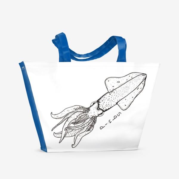 Пляжная сумка «Squid»