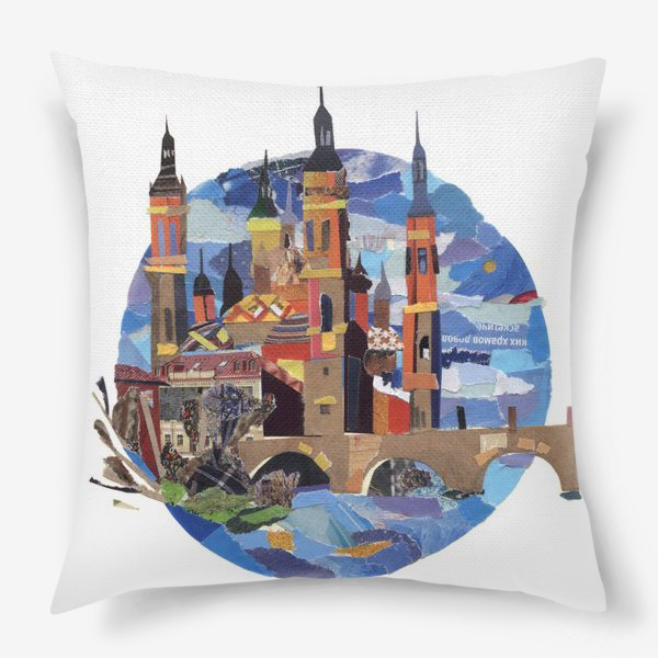 Подушка «Испанский пейзаж»